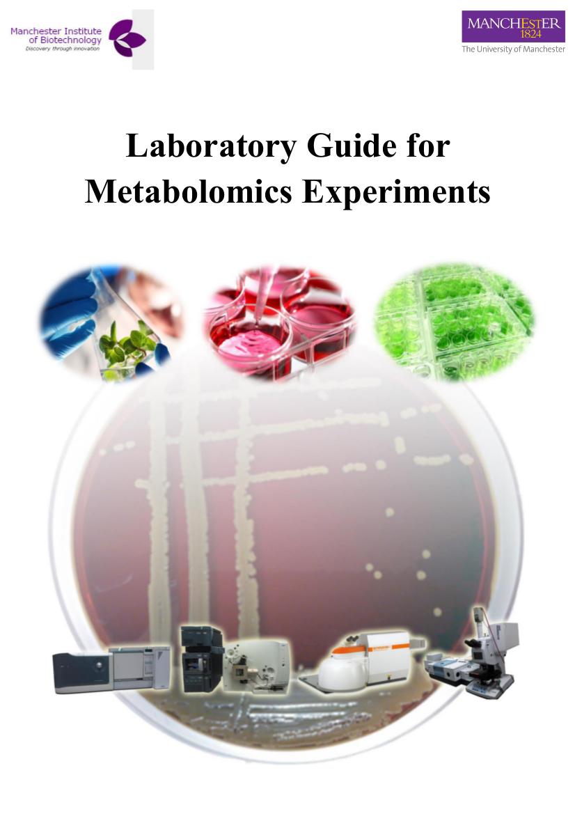 Metabolomics laboratory handbook