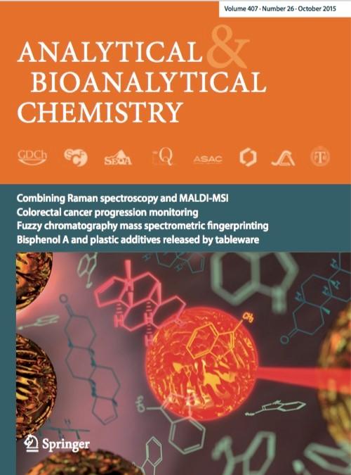Analytical & Bioanalytical Chemistry, October, 2015